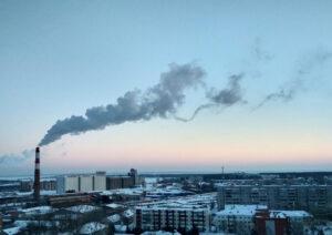 blog post cover image, building pollutants